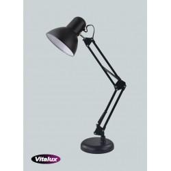 Lampka MT-504 1xE27 60W czarna