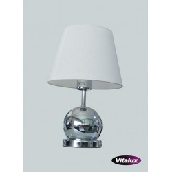 Lampka CLETO 1xE14 40W chrom