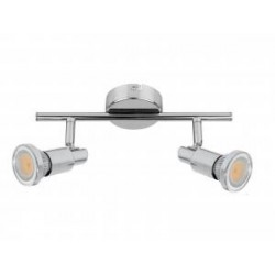 KINIET STAR inc.2xGU10 4,5W LED 360lm CHROM