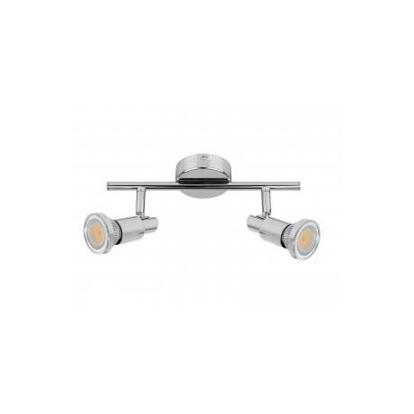 KINIET STAR inc.2xGU10 4,5W LED 360lm CHROM