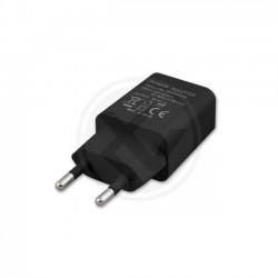 Zasilacz wtyczkowy 1x USB 5V/1A DC czarny