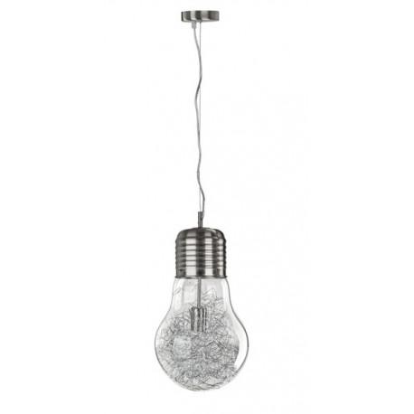 Lampa wisząca FLO30 1xE27 satyna