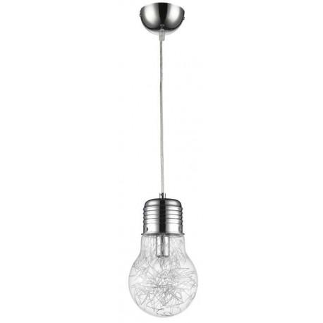 Lampa wisząca FLO15 1xE14 chrom